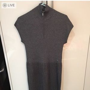 Chanel mid length sweater dress